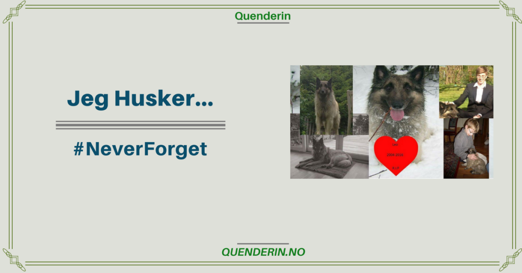 Jeg Husker... #NeverForget