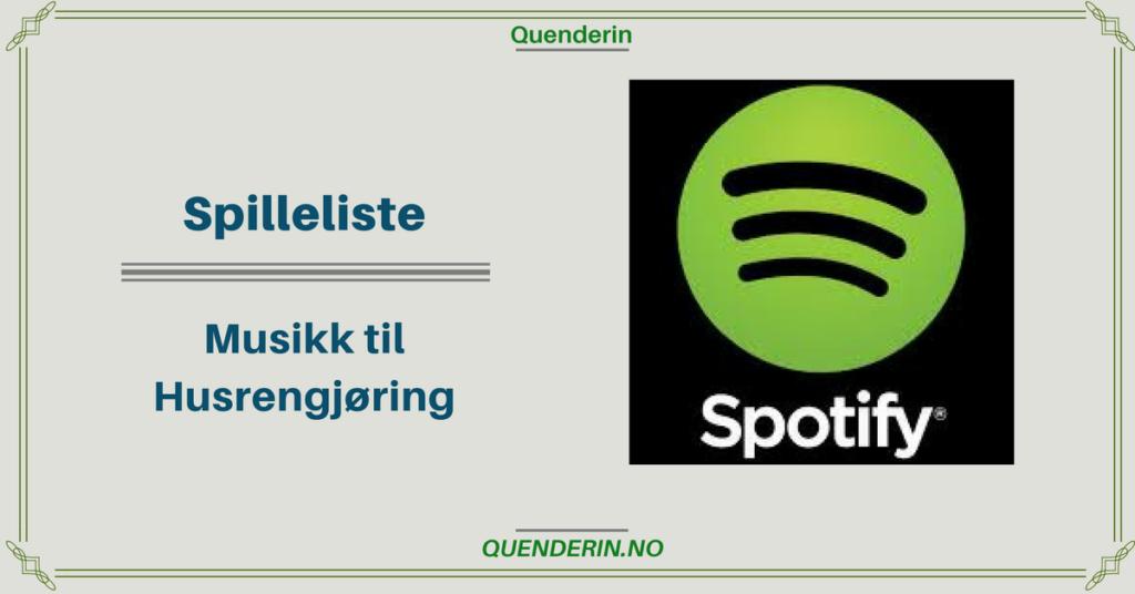 Spilleliste - Musikk til husrengjøring