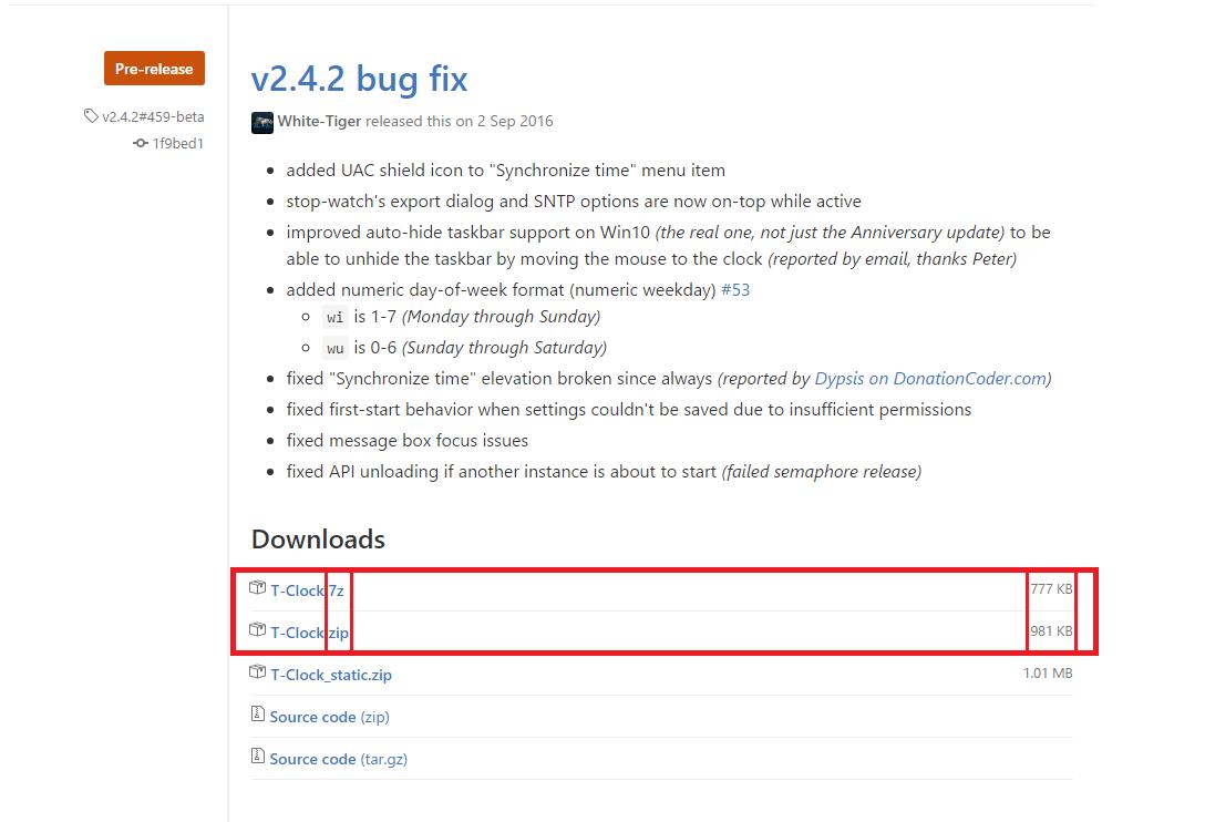 Windows-Tips: T-Clock